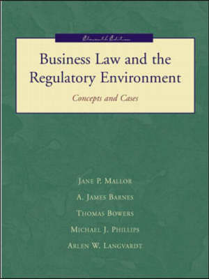 Business Law and the Regulatory Environment (Hardback)
