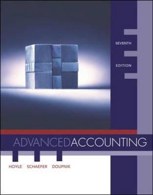 Advanced Accounting - Not Available Individually (Hardback)
