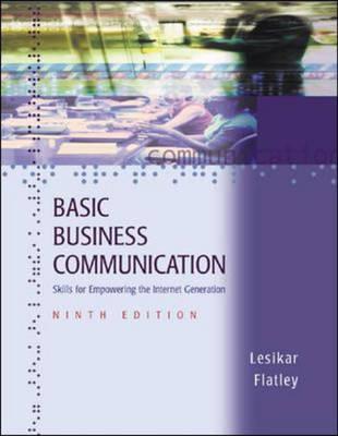 Basic Business Communication (Hardback)