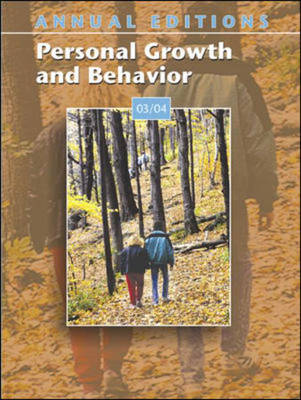 Annual Editions: Personal Growth and Behavior (Paperback)