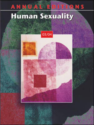 Human Sexuality 2003-2004 - Annual Editions (Paperback)
