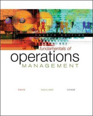 Fundamentals of Operations Management: With Student CD-ROM
