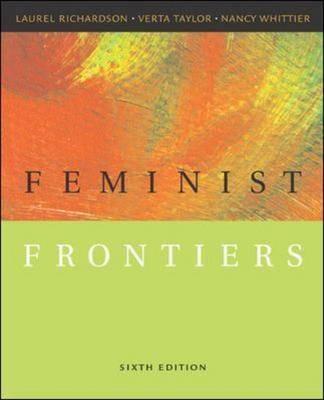 Feminist Frontiers (Paperback)