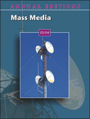 Mass Media 2003-2004 - Annual Editions (Paperback)