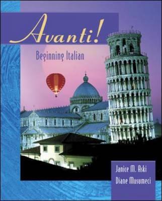 Avanti: Beginning Italian (Hardback)