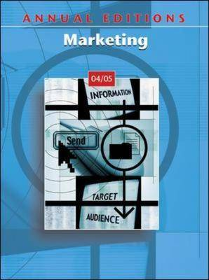 Marketing 2004-2005 - Annual Editions (Paperback)