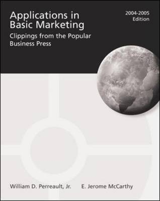 Applications in Basic Marketing 2004-2005 (Paperback)