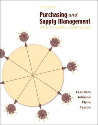 Purchasing Supply Management: with 50 Supply Chain Cases (Hardback)