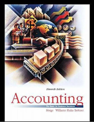 Accounting: The Basis for Business Decisions (Hardback)