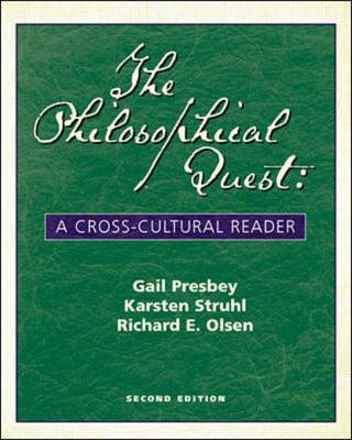 Philosophical Quest: A Cross-cultural Reader (Paperback)