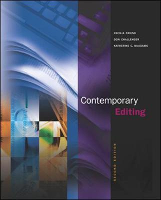 Contemporary Editing: WITH Online Learning Center