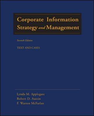 Corporate Information Strategy and Management: Text and Cases (Hardback)