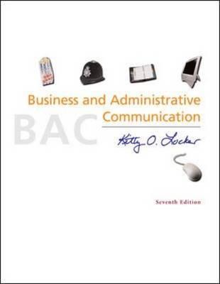 Business and Administrative Communication (Hardback)
