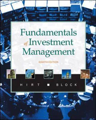 Fundamentals of Investment Management (Hardback)