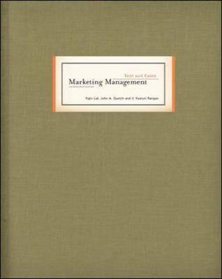 Marketing Management Text and Cases (Hardback)