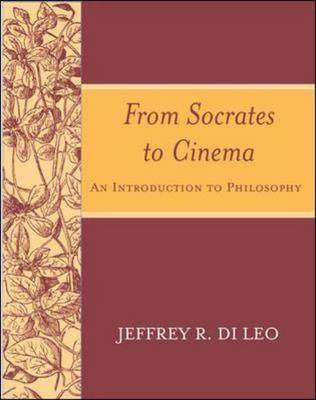 From Socrates to Cinema: An Introduction to Philosophy (Paperback)
