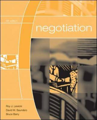 Negotiation (Paperback)