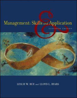 Management: Skills and Application