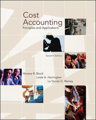 Cost Accounting: Principles and Applications (Paperback)