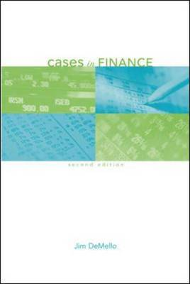Cases in Finance (Paperback)