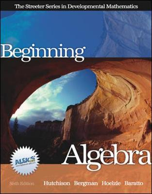 Beginning Algebra with MathZone (Book)