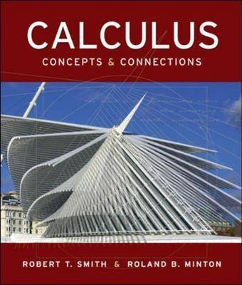 Calculus: With Mathzone: Concepts and Connections (Hardback)