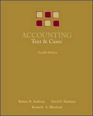 Accounting: Texts and Cases (Hardback)