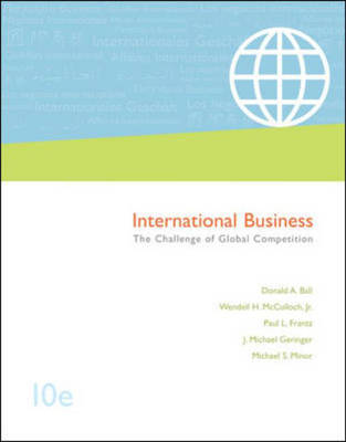 International Business with World Map, Student CD and Cesim