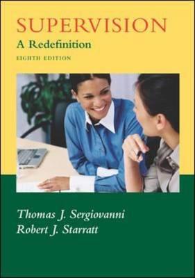 Supervision: A Redefinition (Hardback)