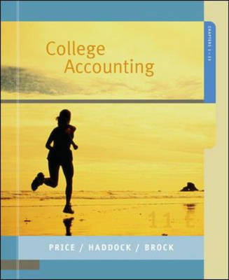 College Accounting: Chapters 1-13 (Paperback)