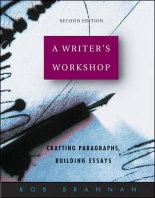 Writer's Workshop: Student Edition