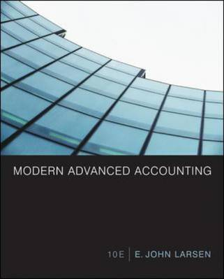 Modern Advanced Accounting (Hardback)