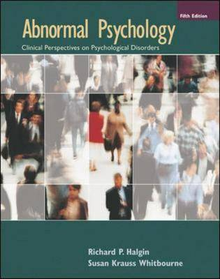 Abnormal Psychology: WITH MindMap II CD-ROM AND PowerWeb