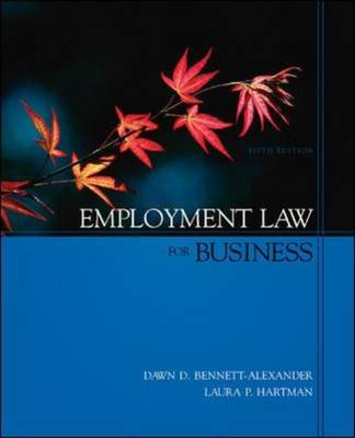 Employment Law for Business: With Powerweb Card (Hardback)
