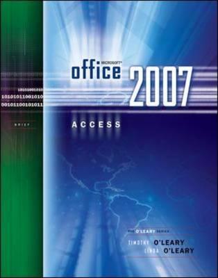 Microsoft Office Access 2007 (Paperback)
