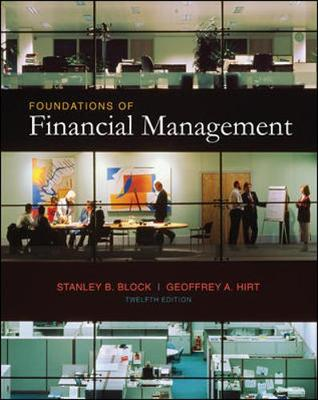 Foundations of Financial Management Text - Educational Version of Market Insight - Time Value of Money Insert (Hardback)
