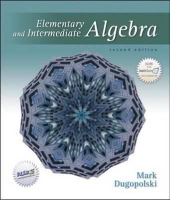 Elementary and Intermediate Algebra (Hardback)