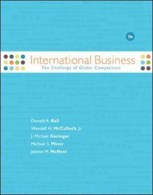 International Business: The Challenge of Global Competition (Hardback)