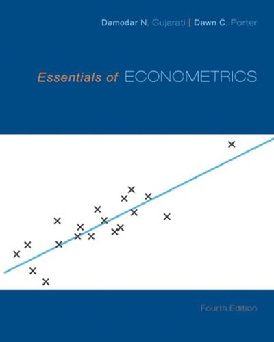 Essentials of Econometrics (Hardback)