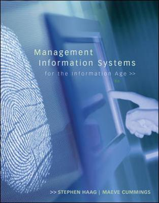 Management Information Systems for the Information Age (Hardback)
