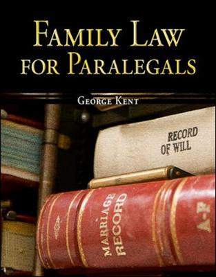 Family Law for Paralegals (Paperback)