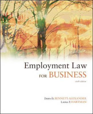 Employment Law for Business (Hardback)