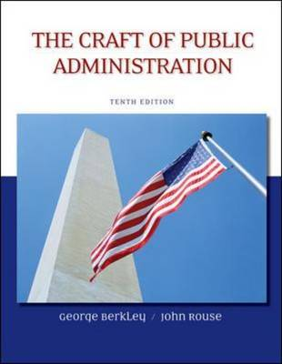 The Craft of Public Administration (Paperback)