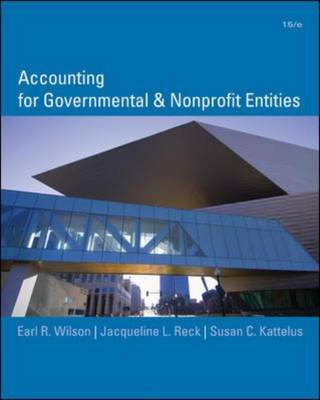 Accounting for Governmental and Nonprofit Entities (Hardback)