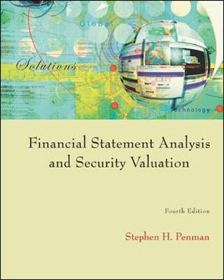 Financial Statement Analysis and Security Valuation (Hardback)