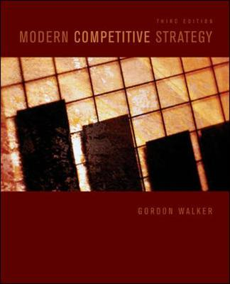 Modern Competitive Strategy (Paperback)