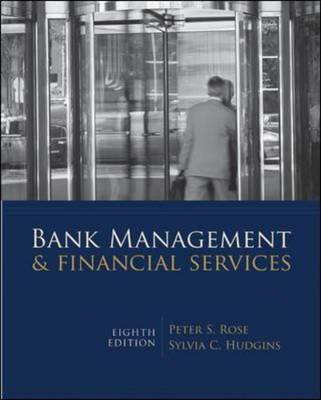 Bank Management & Financial Services (Hardback)