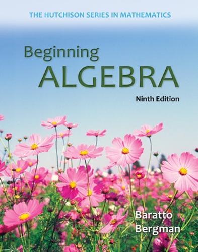 Beginning Algebra (Paperback)