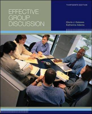 Effective Group Discussion: Theory and Practice (Paperback)