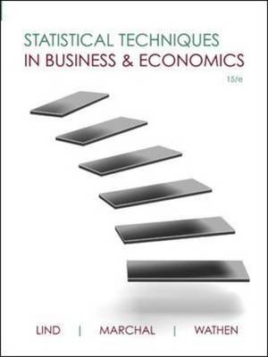 Statistical Techniques in Business and Economics (Hardback)